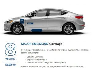 major emissions