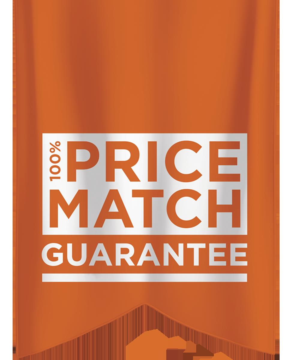 100% Price Match
